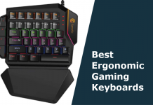 best ergonomic gaming keyboard