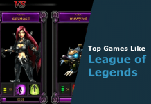 games like league of legends