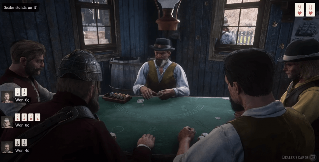 Red Dead Redemption 2 casino boat