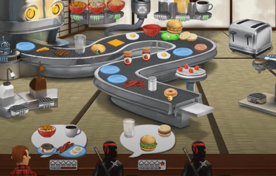 free cooking games Burger Shop