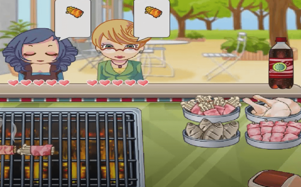 free cooking games Hot BBQ Party