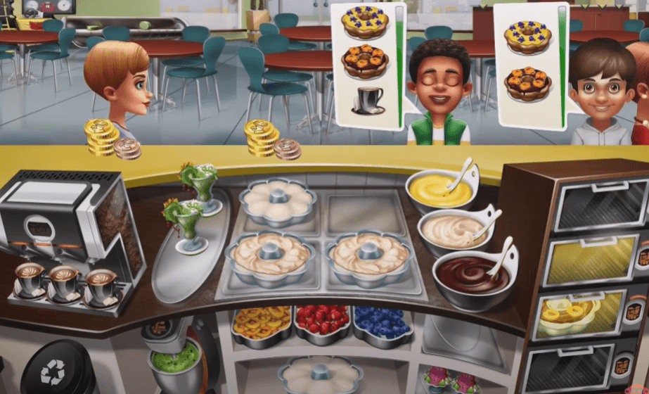 Cooking Fever best free cooking games