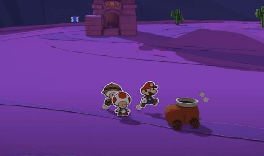 Paper Mario: The Origami King gameplay on nintendo switch